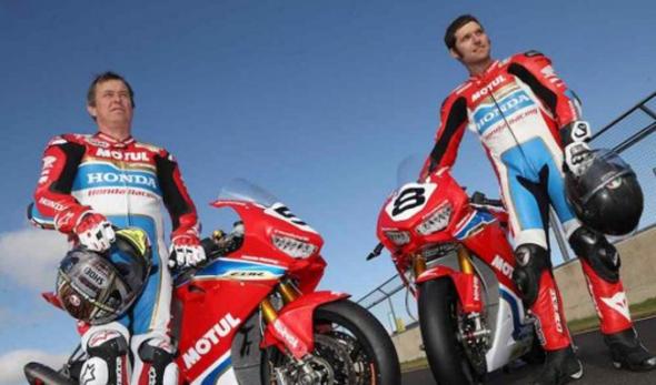 El equipo Honda ya se encuentra listo para competir en el TT 2017