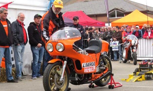A la venta más de 80 motos Laverda.