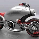 Moto Porsche 618: eléctrica y futurista