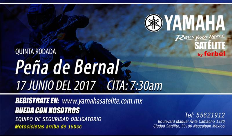 Regístrate para visitar Peña de Bernal con YAMAHA SATÉLITE.