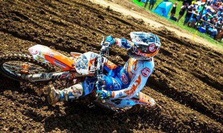 Blake Baggett el más rápido en la cuarta carrera de AMA Motocross.