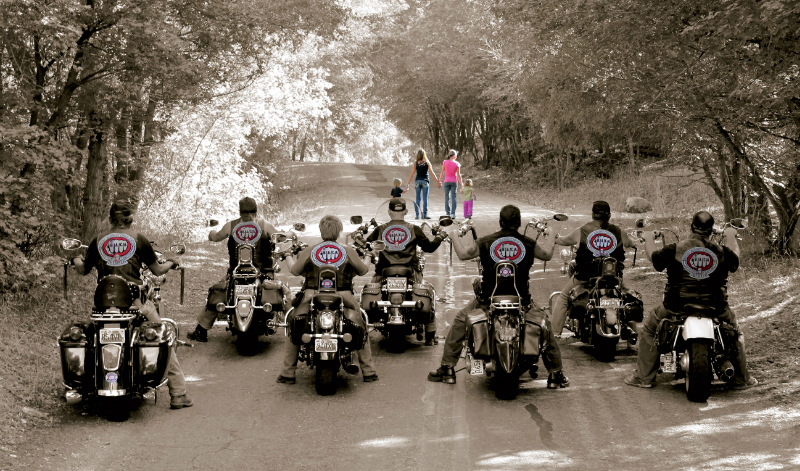 Bikers Against Child Abuse, porque #MotociclismoEsAltruismo.