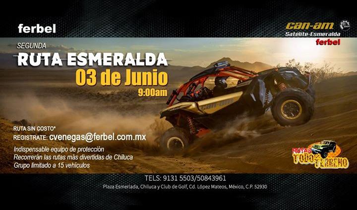 ¡Regístrate para la segunda Ruta Esmeralda!