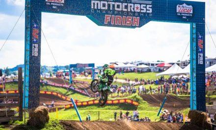 Eli Tomac consigue su segunda victoria en la temporada AMA Motocross.
