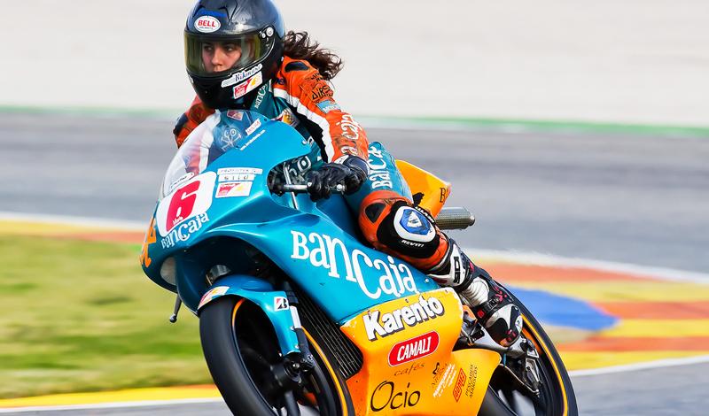 María Herrera y sus inicios en MotoGP