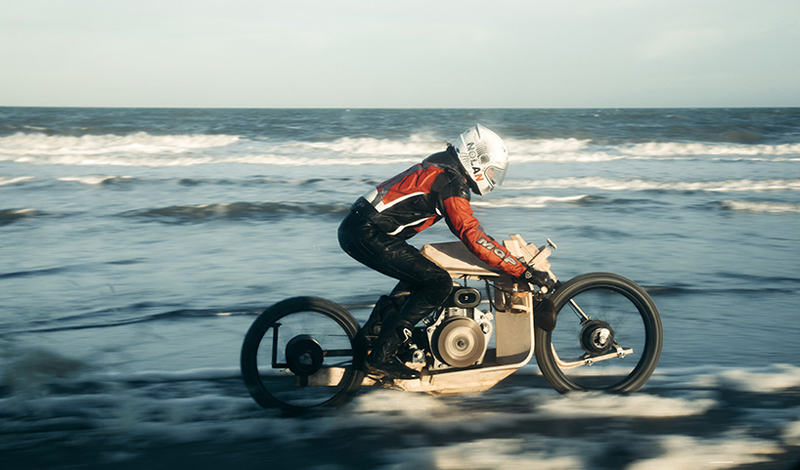 La moto más ecológica.