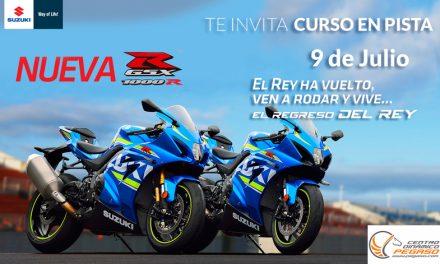 Maneja tu moto en uno de los espacios más seguros en Latinoamérica y disfruta de la velocidad y los consejos de dos figuras del motociclismo, que estarán compartiendo experiencia, talento y juventud con los usuarios Suzuki.