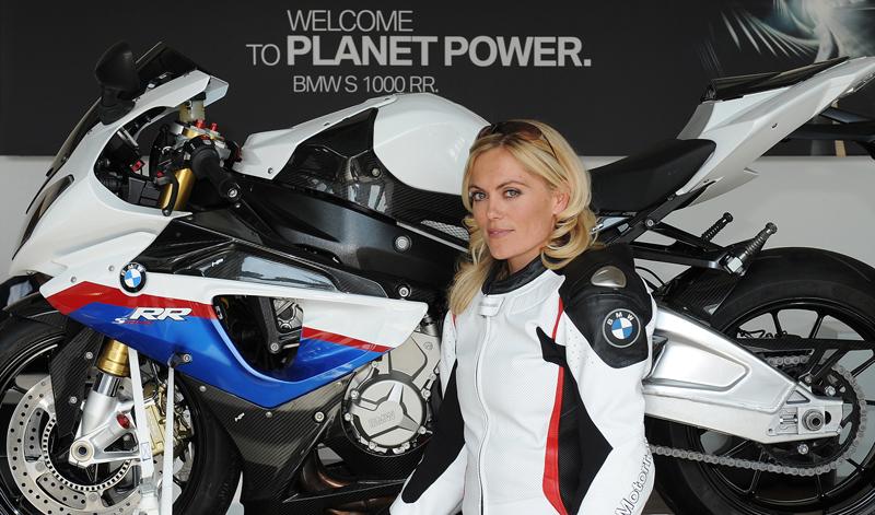 Katja Poensgen, el motociclismo también es un deporte de mujeres