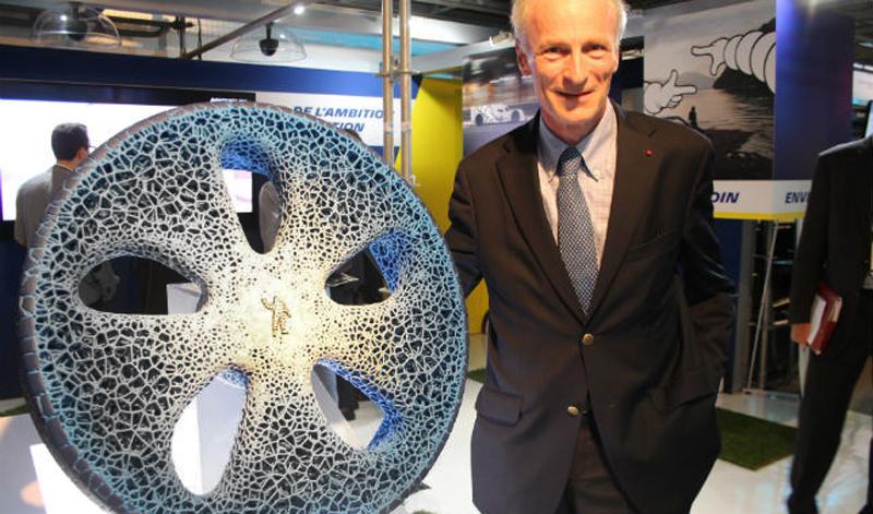 Michelin nos da un vistazo al futuro de las llantas