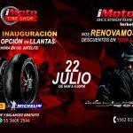 Gran Inauguración de IMoto Tire Shop y renovación de la IMoto Satélite