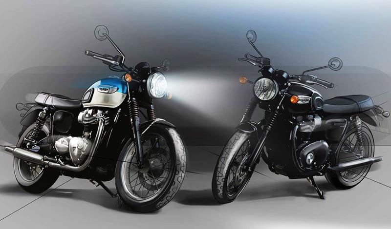 Llegan la clásica Bonneville T100 y la elegante T100 Black