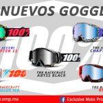 Los mejores diseños en goggles con 100%