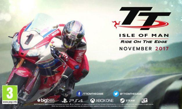 TT Isla de Man: Ride on the Edge, el nuevo videojuego de motociclismo que te erizará la piel.