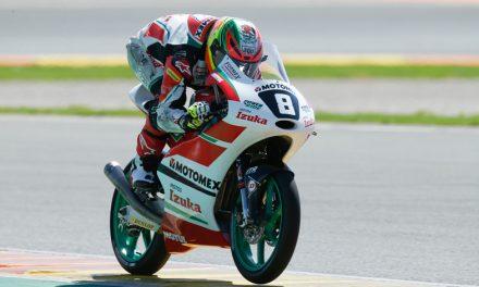 """""""Gabo"""" hace historia al sumar sus primeros puntos en el Mundial Júnior de Moto3"""