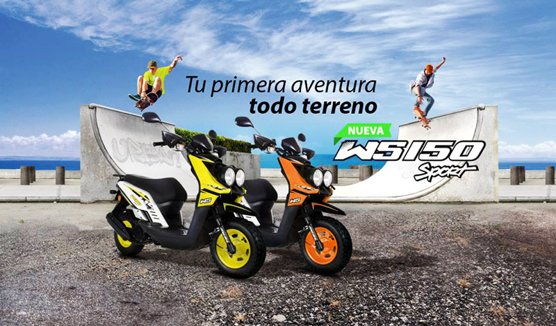 La doble propósito que estabas esperando, ITALIKA WS 150 Sport