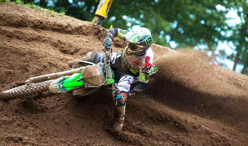 Eli Tomac, líder en Southwick en el Campeonato AMA Motocross