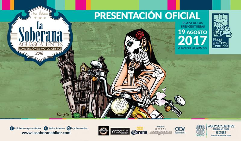 Presentación oficial de La Soberana
