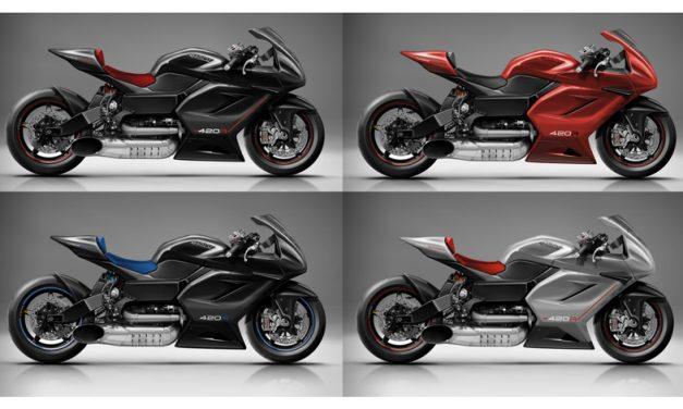La MTT 420R podría ser la moto homologada para calle más rápida del mundo y de la historia