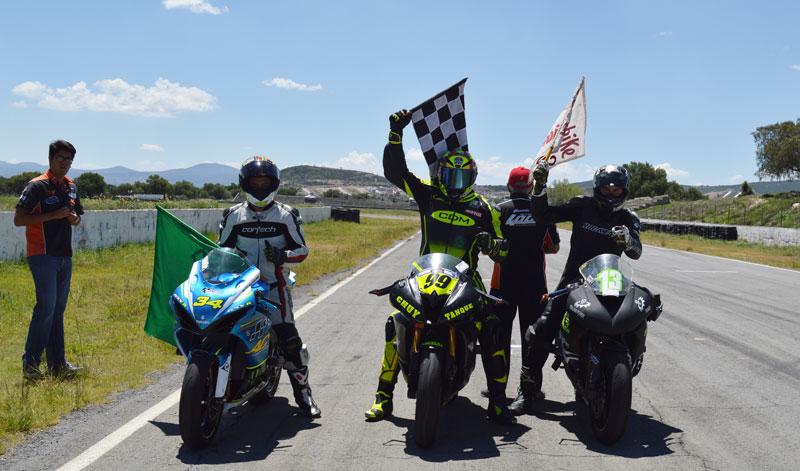 Rodrigo Saavedra y Manuel Martínez buscarán la revancha en la siguiente fecha del Superbike México