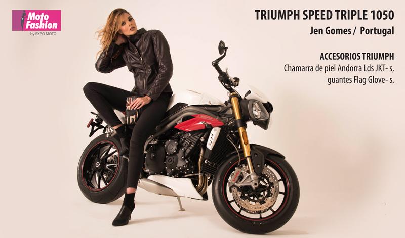 Jen Gomes es la primera candidata que estará deslumbrando la pasarela de Moto Fashion, en el marco de la décimo octava edición de Expo Moto 2017