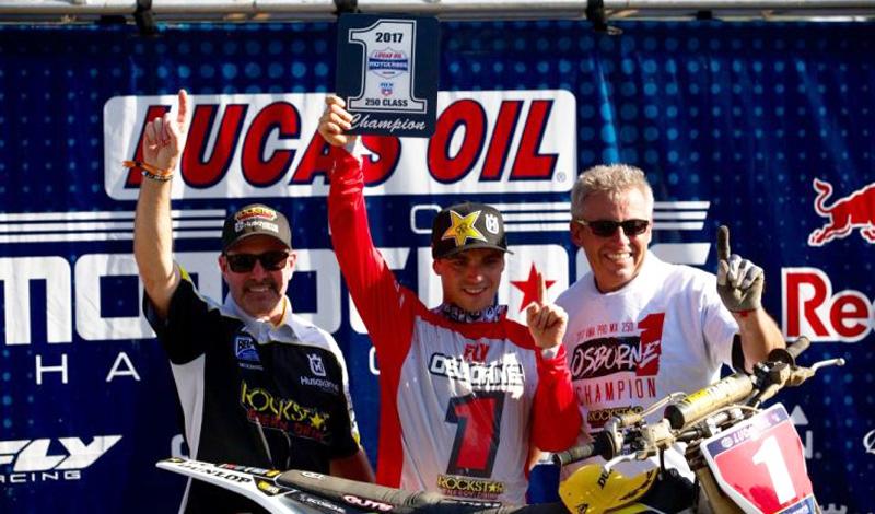 Bogle y Cianciarulo sorprenden en AMA Pro Motocross