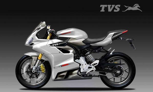 La moto india con exterior alemán