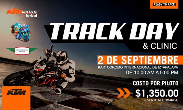 Aprende de los expertos, Track Day & Clinic de KTM