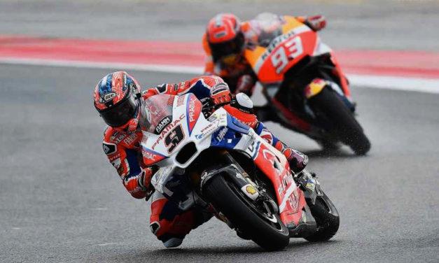 """""""El que arriesga gana"""", Marc Márquez se lleva el triunfo en MotoGP de San Marino"""