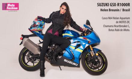 El regreso del rey con la nueva Suzuki GSX-R1000R y Helen Breunin