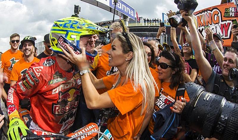 Antonio Cairoli se proclama campeón del Mundo en MXGP