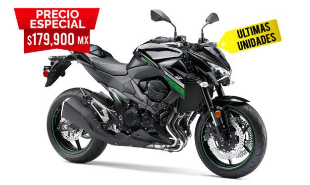 Por últimas unidades, la Z 800 ABS tiene un precio especial
