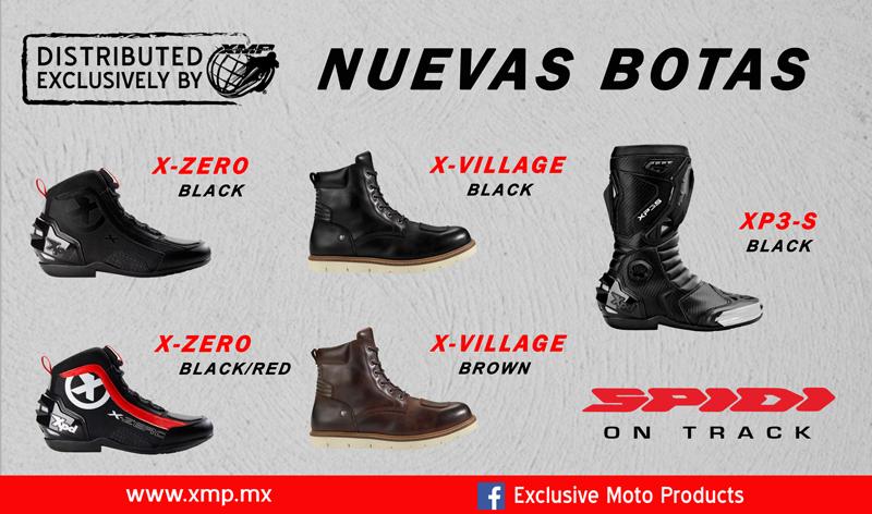 Conoce las nuevas botas Spidi