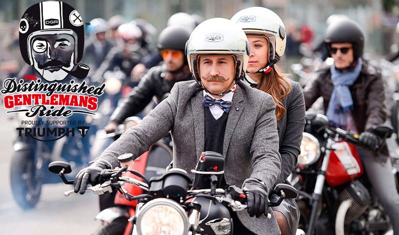 Prepara tu traje y participa en el Distinguished Gentleman's Ride 2017
