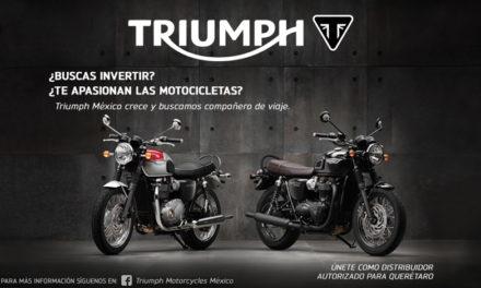 ¡Se busca un aliado Triumph en la ciudad de Querétaro!