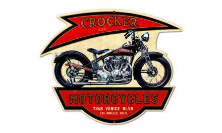 Crocker Motorcycle Company, la marca estadounidense más veloz de su época
