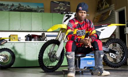 James Stewart Jr., una leyenda del motociclismo afroamericano