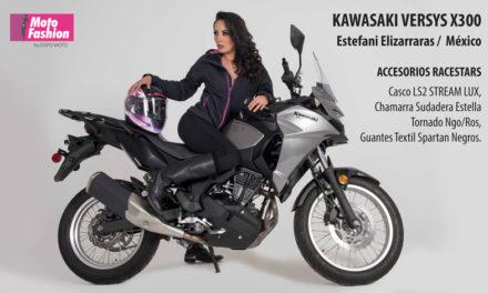 Stefani marca la diferencia con la nueva Versys X-300 de Kawasaki