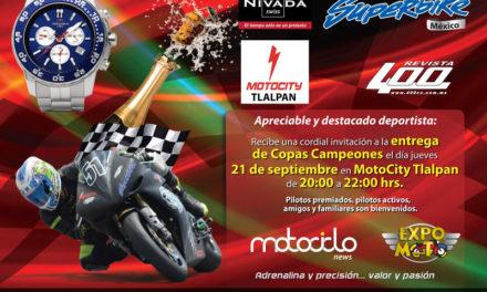 EXPO MOTO premiará a los Campeones SUPERBIKE México