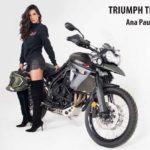 Ana Paula Nardi, con su impactante mirada viene a imponer su estilo en las pasarelas de Moto Fashion