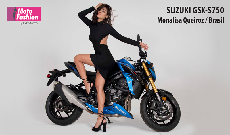 Monalisa Queiroz, una hermosa brasileña que pondrá su talento a prueba para llevarse el Título de MOTO FASHION