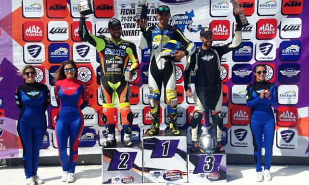 La séptima fecha del Campeonato Nacional de ITALIKA Racing fue vibrante