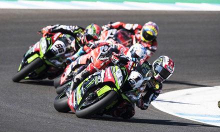 Jonathan Rea  ganador de Jerez en la penúltima carrera del Campeonato Mundial de Superbike