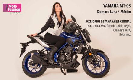 Abraza tu lado oscuro con la nueva Yamaha MT-03 y Xiomara Luna