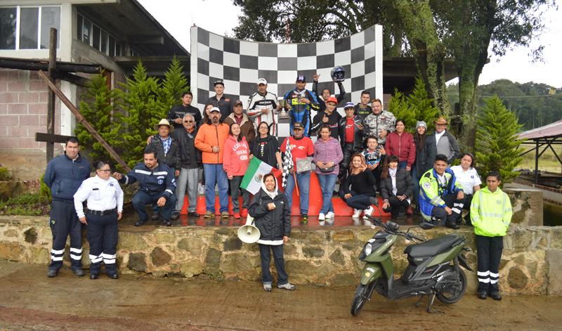 Una vez más se vivió el Superbike México bajo la lluvia