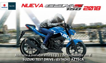 ¡La espera terminó, Suzuki Motor México trae para ti la nueva forma de recorrer la ciudad!