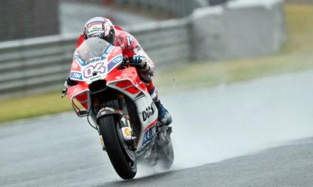Andrea Dovizioso el más rápido de Japón