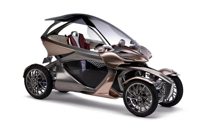 Yamaha MWC-4: el cuatro ruedas del futuro