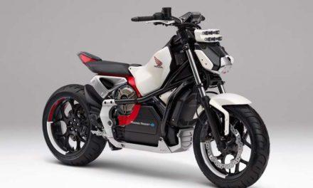 Riding Assist-e, la moto perfecta para principiantes