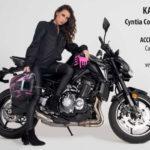 El renacer de la icónica Z900 y la sensualidad de Cyntia  Cofano