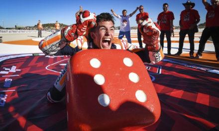 Marc Márquez campeón absoluto del Campeonato Mundial de MotoGP. Un triunfo más para el español y HONDA
